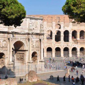 Colosseum Top to Bottom
