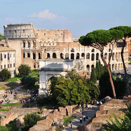 EXCLUSIVE COLOSSEUM, ROMAN FORUM AND AUGUSTUS PALACE