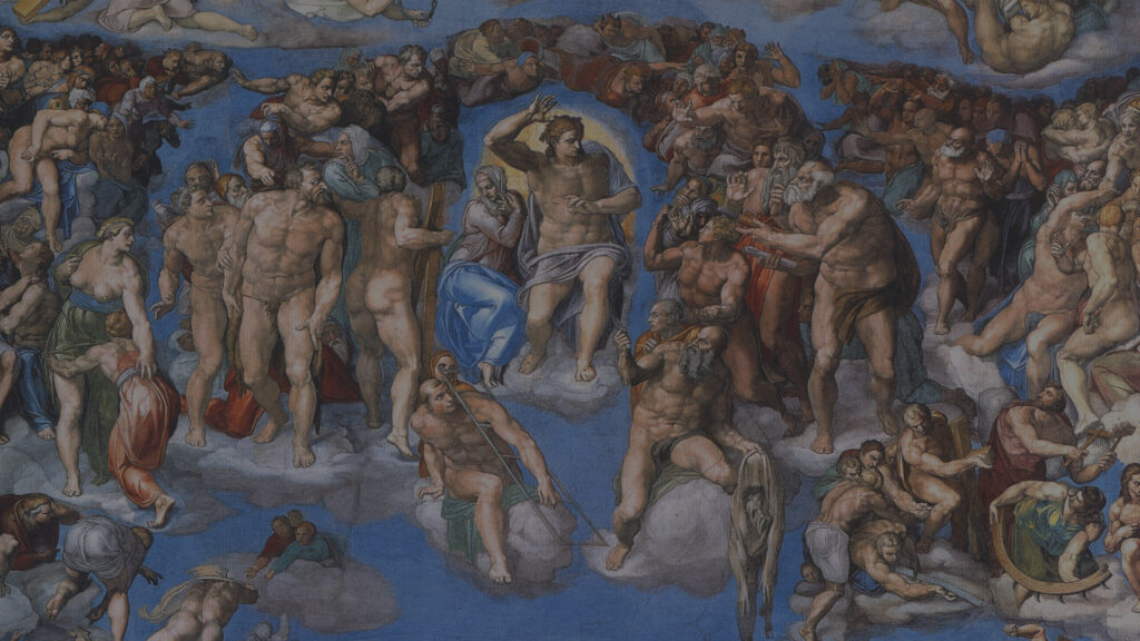 sistine michelangelo last judgement s