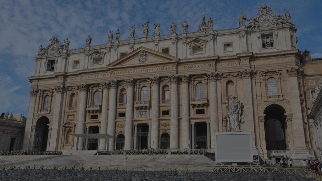 saint peter's basilica facade s